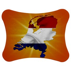 Holland Country Nation Netherlands Flag Jigsaw Puzzle Photo Stand (bow) by Nexatart