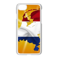 Holland Country Nation Netherlands Flag Apple Iphone 7 Seamless Case (white)
