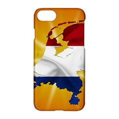 Holland Country Nation Netherlands Flag Apple Iphone 8 Hardshell Case