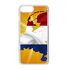 Holland Country Nation Netherlands Flag Apple Iphone 8 Plus Seamless Case (white)