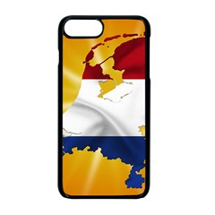Holland Country Nation Netherlands Flag Apple Iphone 8 Plus Seamless Case (black)