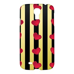 Love Heart Pattern Decoration Abstract Desktop Samsung Galaxy S4 I9500/i9505 Hardshell Case by Nexatart