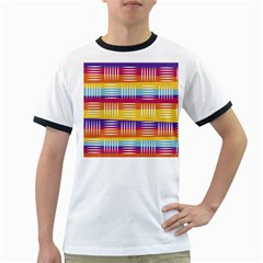 Art Background Abstract Ringer T Shirts