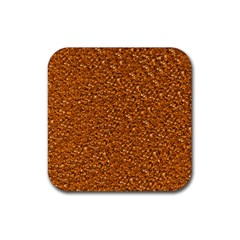 Sparkling Glitter Terra Rubber Square Coaster (4 Pack)  by ImpressiveMoments