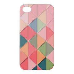 Background Geometric Triangle Apple Iphone 4/4s Premium Hardshell Case