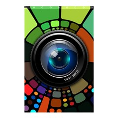 Lens Photography Colorful Desktop Shower Curtain 48  X 72  (small)