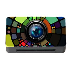 Lens Photography Colorful Desktop Memory Card Reader With Cf