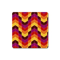 Geometric Pattern Triangle Square Magnet