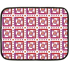 Background Abstract Square Fleece Blanket (mini)