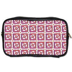 Background Abstract Square Toiletries Bags 2 Side