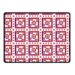 Background Abstract Square Fleece Blanket (small)