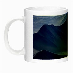 Planet Discover Fantasy World Night Luminous Mugs