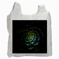 Nature Desktop Flora Color Pattern Recycle Bag (two Side)