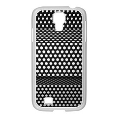 Holes Sheet Grid Metal Samsung Galaxy S4 I9500/ I9505 Case (white)