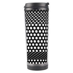 Holes Sheet Grid Metal Travel Tumbler by Nexatart
