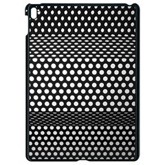 Holes Sheet Grid Metal Apple Ipad Pro 9 7   Black Seamless Case by Nexatart