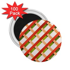 Wallpaper Creative Design 2 25  Magnets (100 Pack)