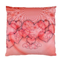 Heart Love Friendly Pattern Standard Cushion Case (one Side) by Nexatart