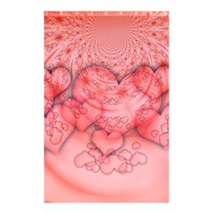 Heart Love Friendly Pattern Shower Curtain 48  X 72  (small)