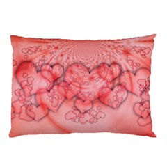 Heart Love Friendly Pattern Pillow Case (two Sides) by Nexatart