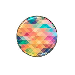 Texture Background Squares Tile Hat Clip Ball Marker
