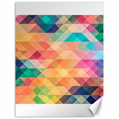 Texture Background Squares Tile Canvas 18  X 24