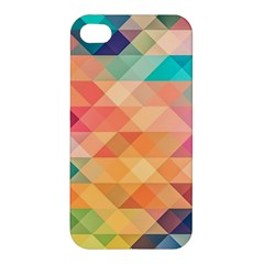 Texture Background Squares Tile Apple Iphone 4/4s Premium Hardshell Case