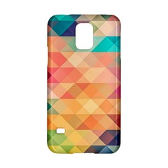 Texture Background Squares Tile Samsung Galaxy S5 Hardshell Case  by Nexatart