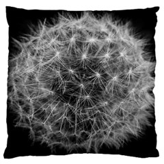 Dandelion Fibonacci Abstract Flower Large Flano Cushion Case (one Side)