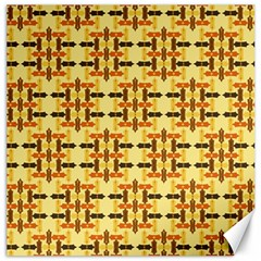 Ethnic Traditional Vintage Background Abstract Canvas 20  X 20