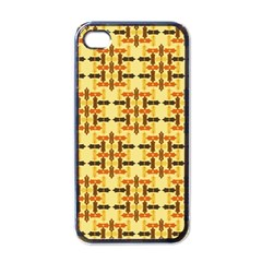 Ethnic Traditional Vintage Background Abstract Apple Iphone 4 Case (black)