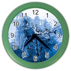 Water Nature Background Abstract Color Wall Clocks