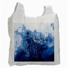 Water Nature Background Abstract Recycle Bag (one Side)