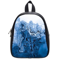 Water Nature Background Abstract School Bag (small)