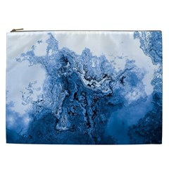 Water Nature Background Abstract Cosmetic Bag (xxl)