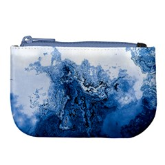 Water Nature Background Abstract Large Coin Purse by Nexatart
