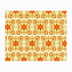 Background Floral Forms Flower Small Glasses Cloth