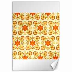 Background Floral Forms Flower Canvas 20  X 30   by Nexatart
