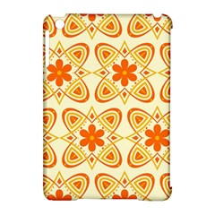 Background Floral Forms Flower Apple Ipad Mini Hardshell Case (compatible With Smart Cover)