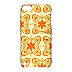 Background Floral Forms Flower Apple Ipod Touch 5 Hardshell Case With Stand