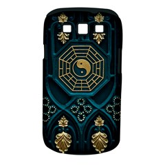 Ying Yang Abstract Asia Asian Background Samsung Galaxy S Iii Classic Hardshell Case (pc+silicone)