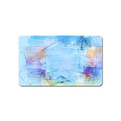 Background Art Abstract Watercolor Magnet (name Card)
