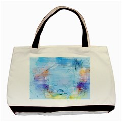 Background Art Abstract Watercolor Basic Tote Bag by Nexatart