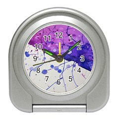 Art Painting Abstract Spots Travel Alarm Clocks by Nexatart
