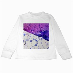 Art Painting Abstract Spots Kids Long Sleeve T Shirts by Nexatart
