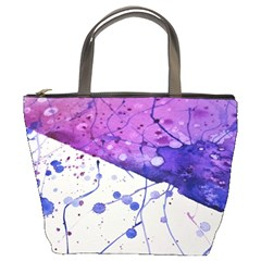 Art Painting Abstract Spots Bucket Bags