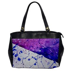 Art Painting Abstract Spots Office Handbags by Nexatart