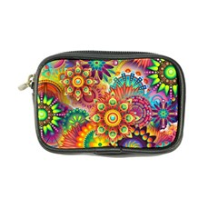 Colorful Abstract Background Colorful Coin Purse by Nexatart
