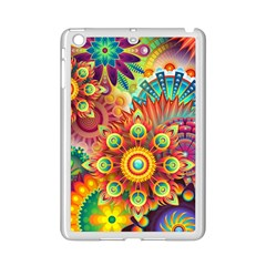 Colorful Abstract Background Colorful Ipad Mini 2 Enamel Coated Cases by Nexatart