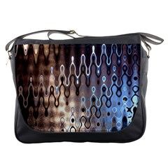 Wallpaper Steel Industry Messenger Bags by Nexatart